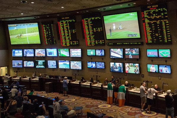 Sports betting center
