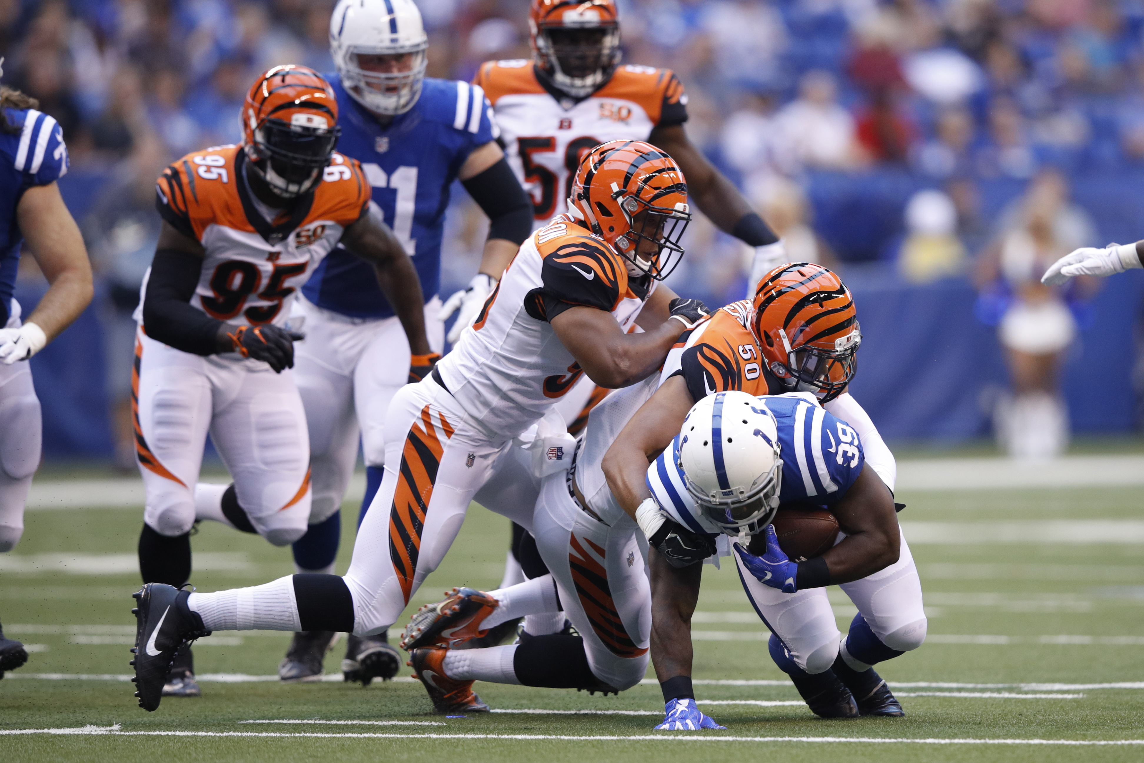 The Bengals and Colts open up the NFL season in this presason game