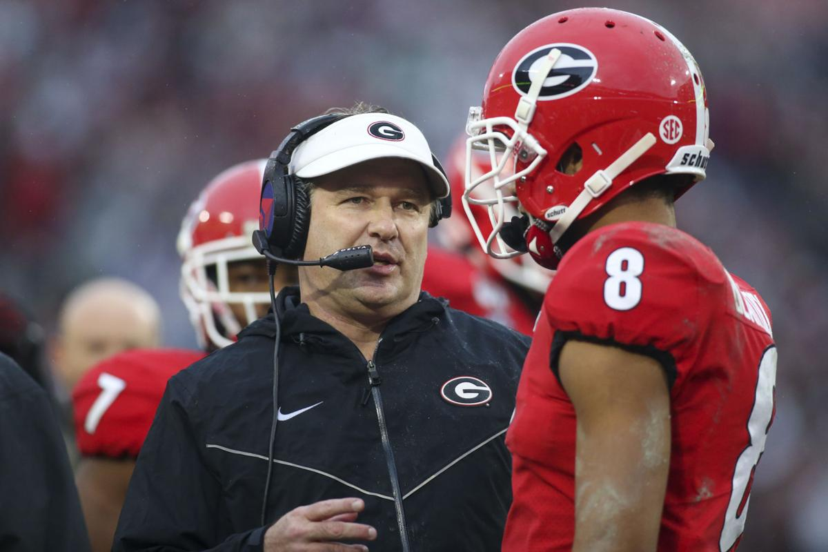 NCAA football: Gerogia head coach Kirby Smart