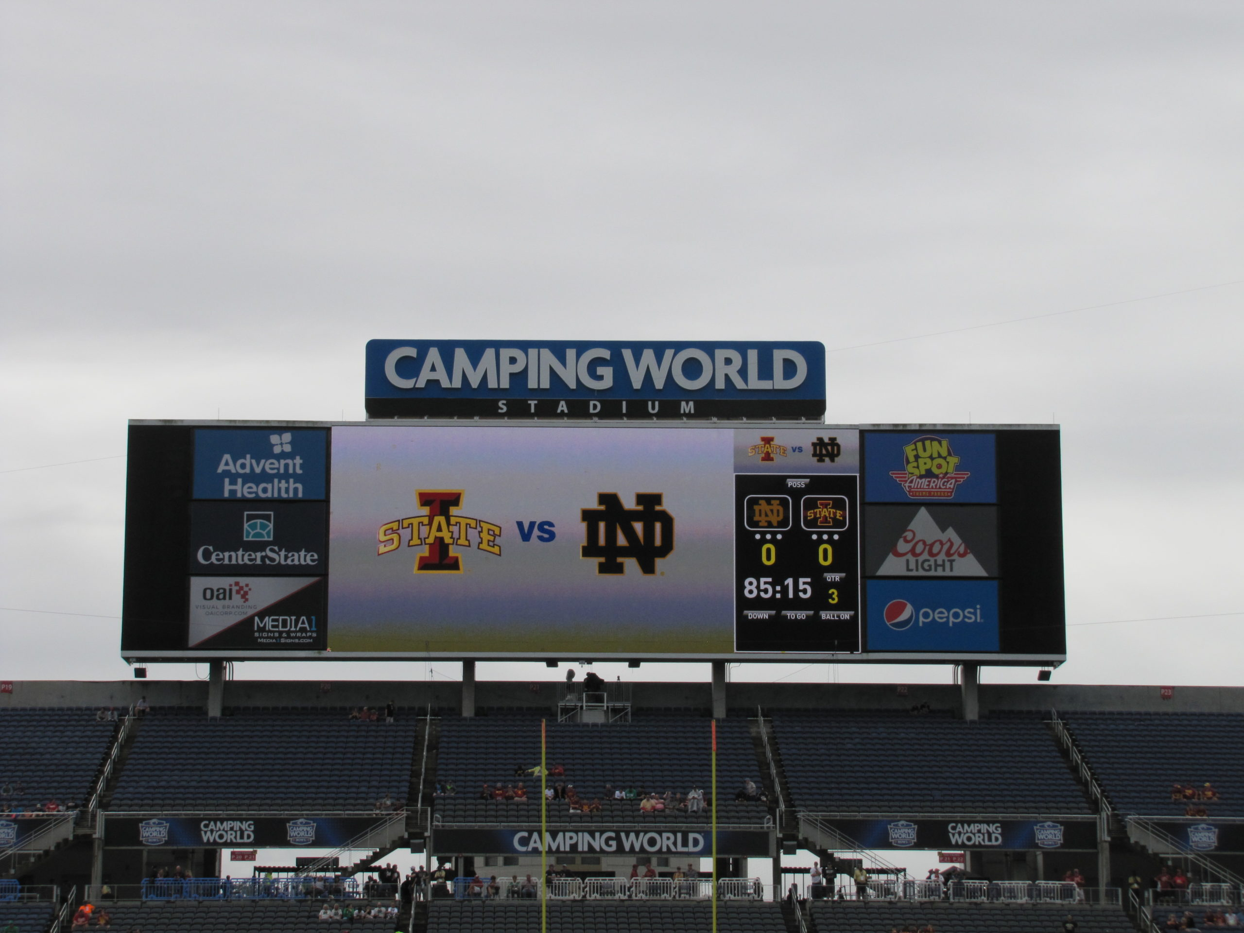 2019 Camping World Bowl