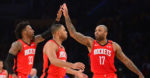 NBA: The Rockets small ball lineup